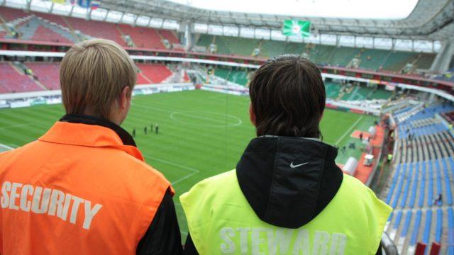 Работа контролером распорядителем на стадионе
