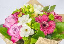 Доставка гербер в Киеве: сделайте цветочный подарок любимым!