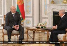 Александр Лукашенко и Херардо Суарес Альварес