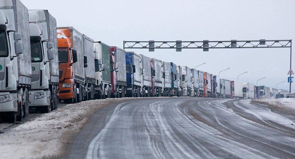 Набелорусско-литовской границе создалась пробка