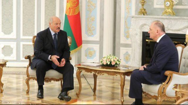 Лукашенко и Котария
