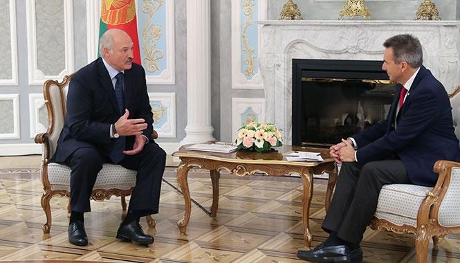 Лукашенко и Маурер