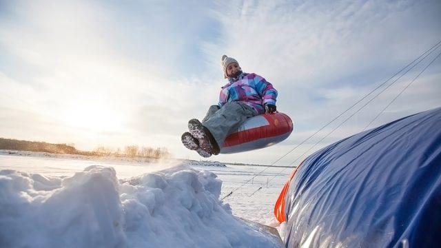 Зимнее развлечение для вас и ваших детей