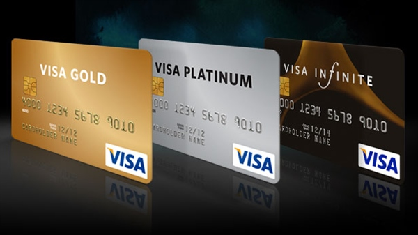 Банковская карта Visa Platinum