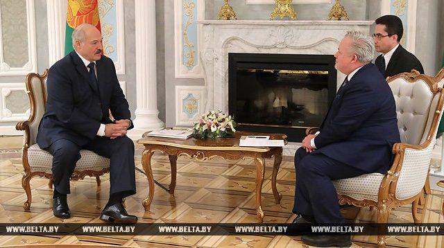 Лукашенко и Харстед