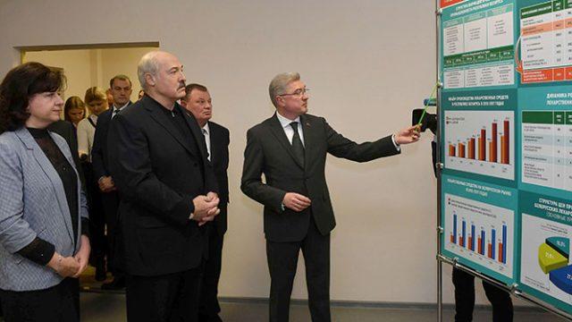 Лукашенко про промзоны
