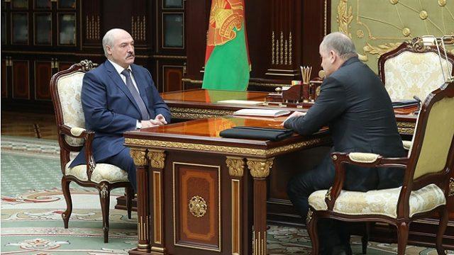 Лукашенко и Каллаур