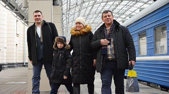 Туристы в Бресте