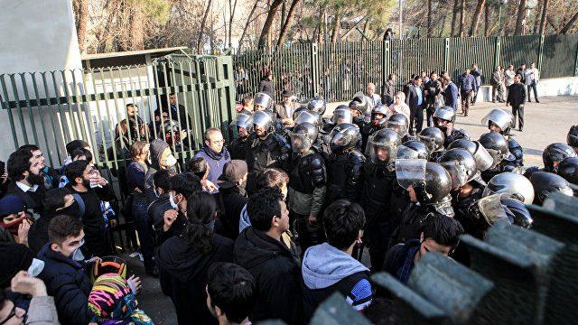 Протесты с Иране