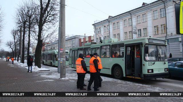 остановка троллейбусов