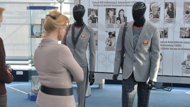 Одежда для олимпийцев