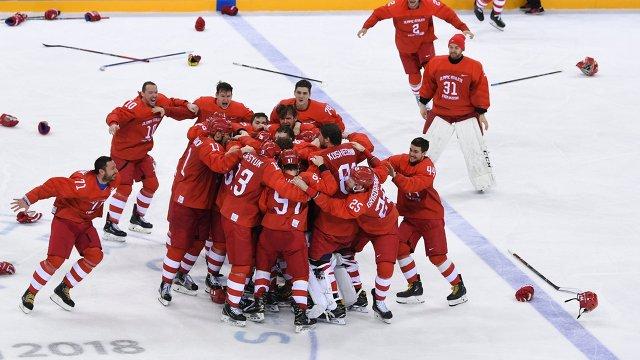 Хоккеисты России