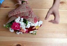 Цветы в бумаге, или хорошо забытое старое