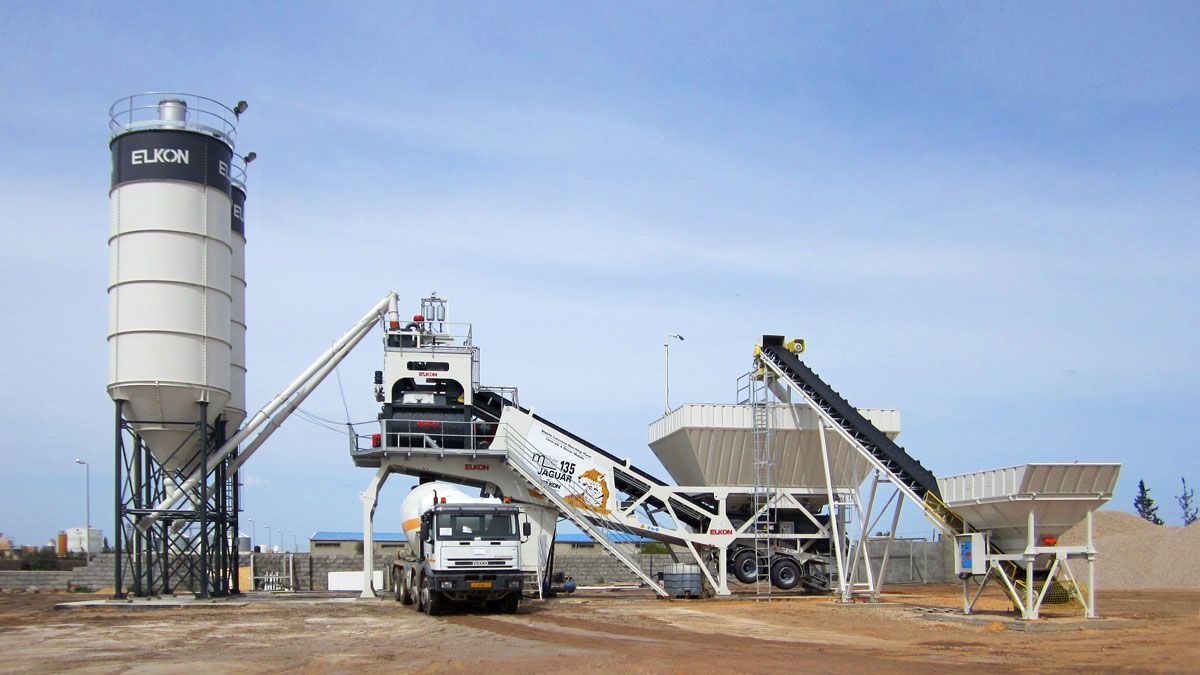 Активное строительство и мобильные бетонные заводы