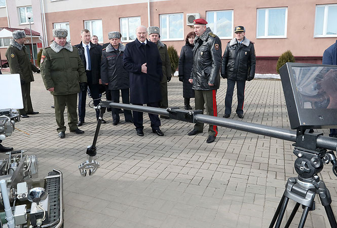 Лукашенко в части