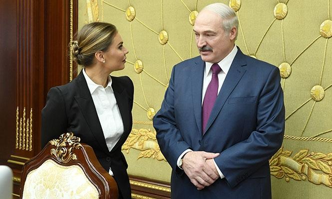 Лукашенко и Кабаева