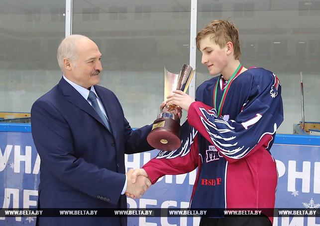 Николай Лукашенко и Александр Лукашенко