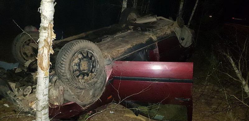 УВД: Водитель с наклейкой «Пьяные люди» на авто перевернулся, убегая от ГАИ