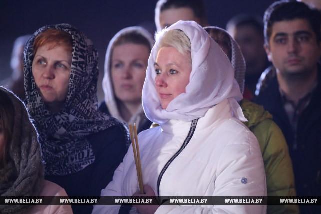 Пасхальная служба Минска