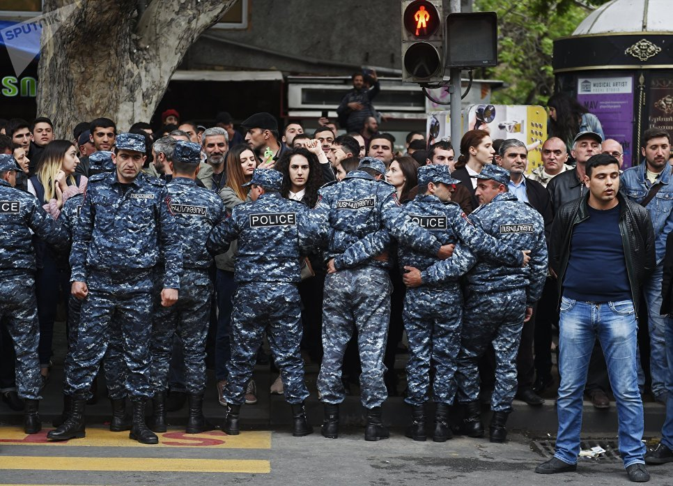 Беспорядки в Армении
