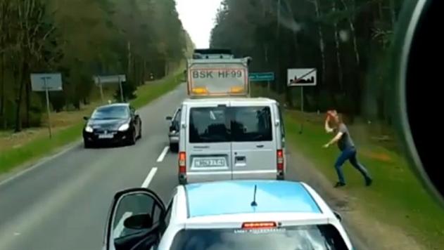 Мусор из машины