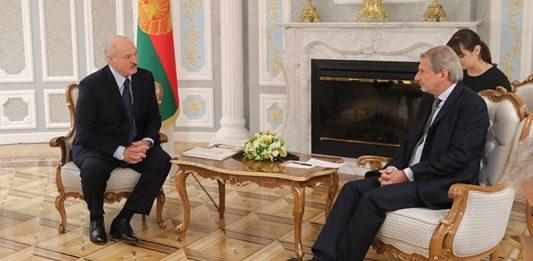 Лукашенко и Хан