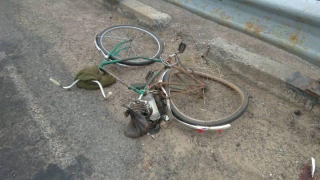 погиб велосипедист