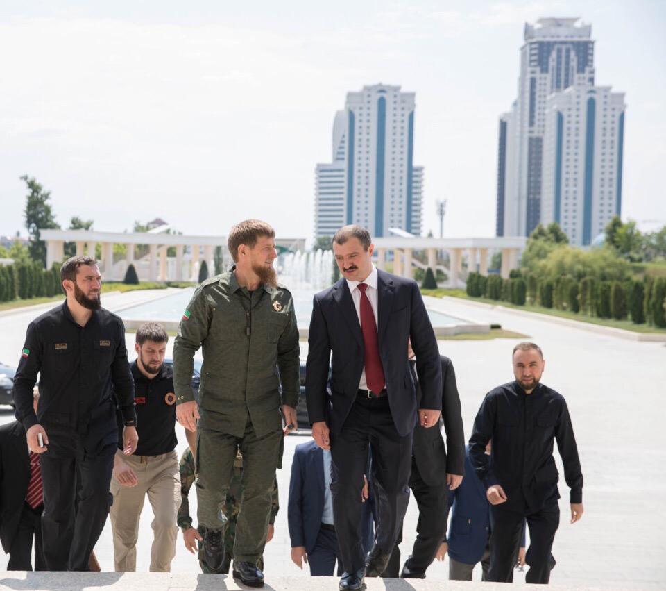 Кадыров и Лукашенко