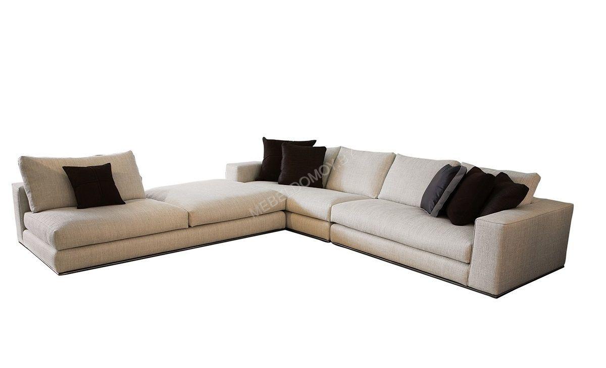 Модульный диван из серии Турин Люкс с пуховым наполнителем