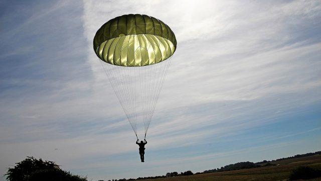 парашютист