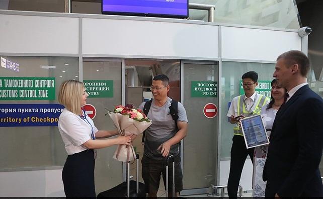 Турист из Китая