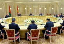 Лукашенко и Чжао Лэцзи
