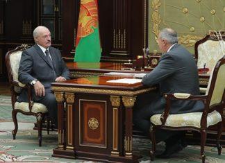 Румас и Лукашенко