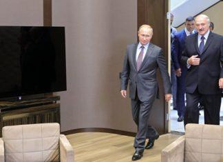 Лукашенко и Путин