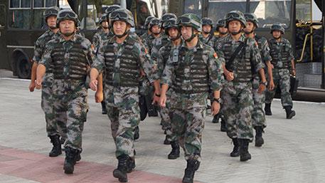 военные из Китая