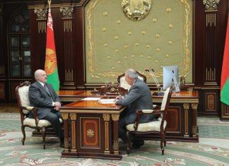Лукашенко и Румас