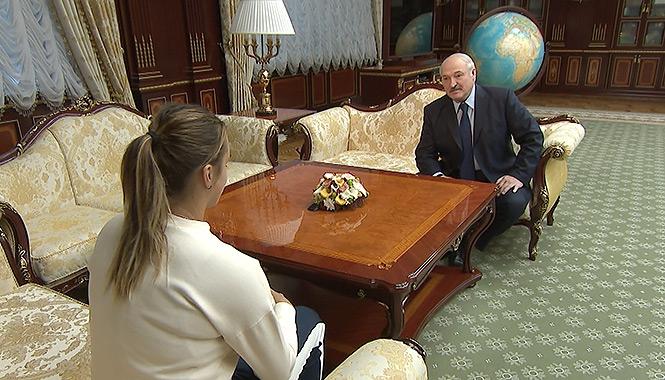 Лукашенко и Соболенко