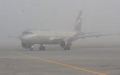 самолёт в тумане