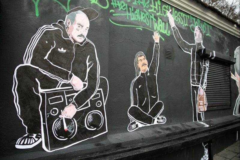 Граффити Лукашенко