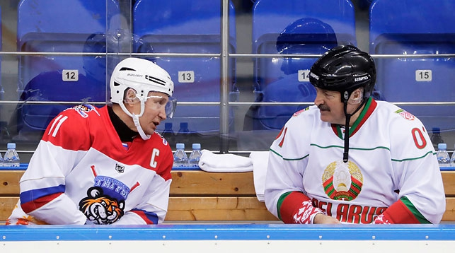 Путин и Лукашенко