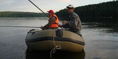 Лодка в сезон
