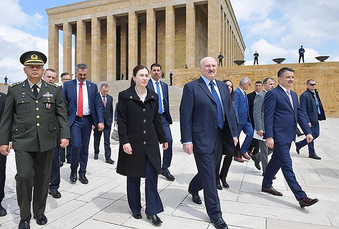 Лукашенко в Турции