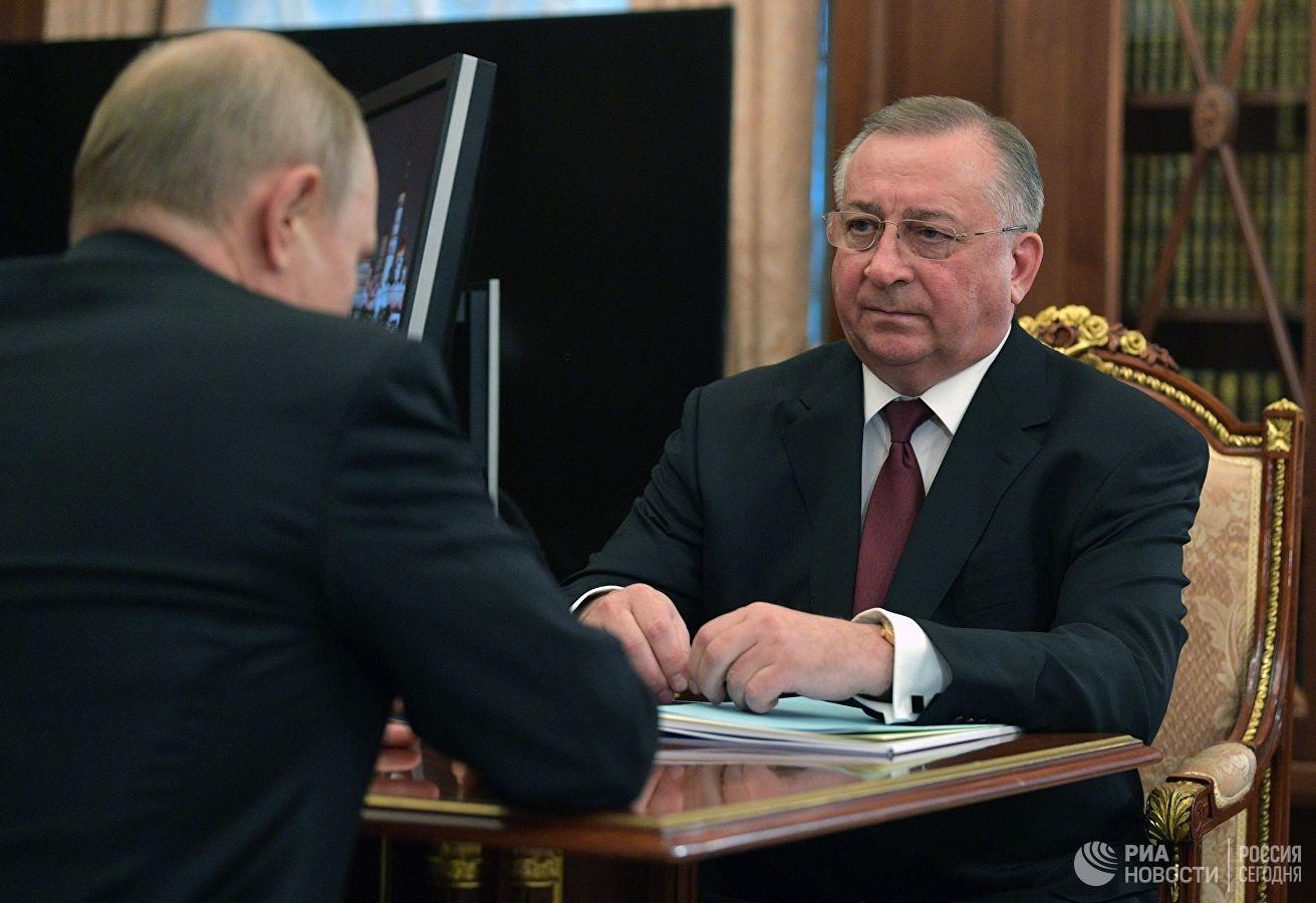 Путин и Токарев