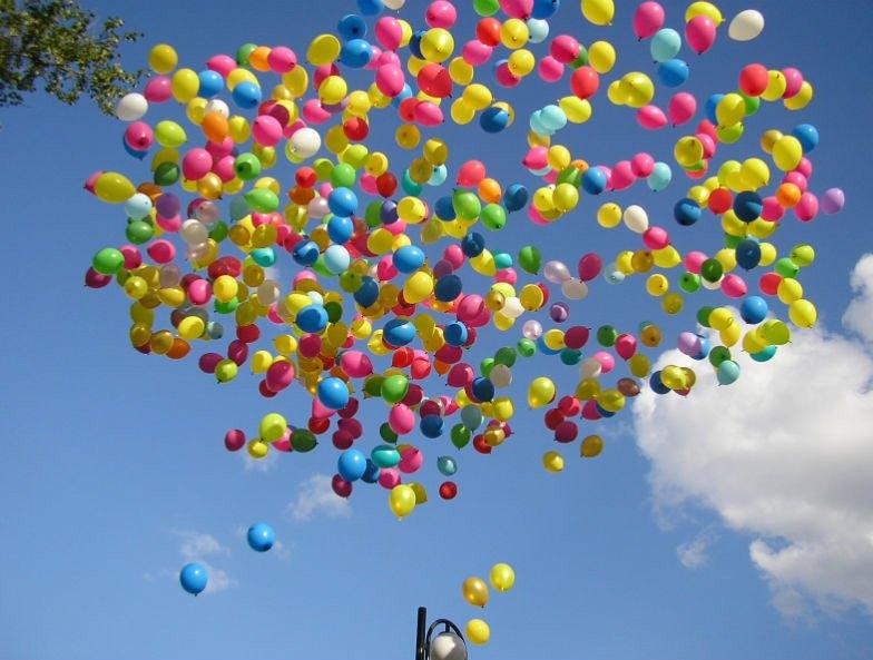 стилиста всем гелевые шары в небе картинки стал все