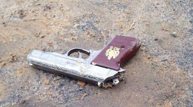 Пистолет - зажигалка