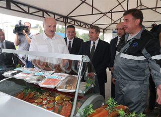 Лукашенко про рыбу