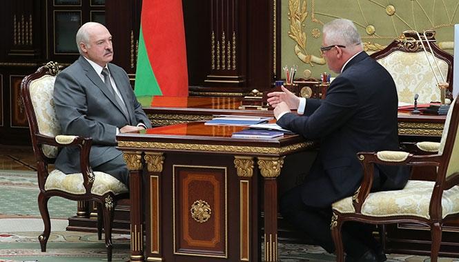 Лукашенко и Карпенко