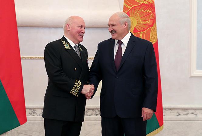 Лукашенко и Мезенцев