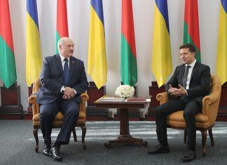 Лукашенко и Зеленкий