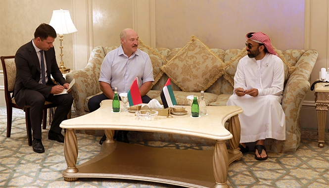 Лукашенко в ОАЭ